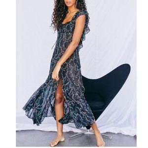 Free People Sunbright Slip Dress